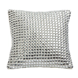 Mirror Down Filled Throw Pillow