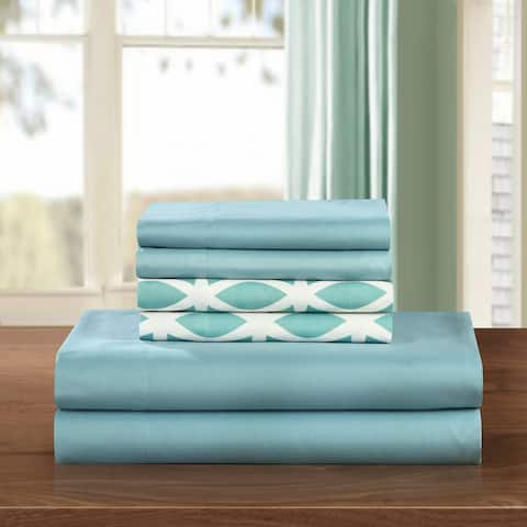 Chic Home 6-Piece Clifton Solid Sheet Set