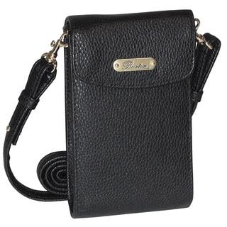 Buxton Cell Phone Crossbody Wallet