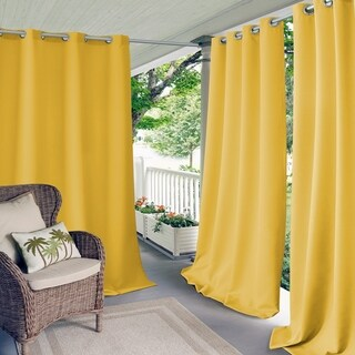 Elrene Connor Indoor/Outdoor Curtain Panel (More options available)