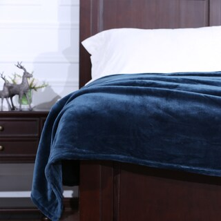 Berkshire VelvetLoft Silky Plush Blanket (Option: Twin)