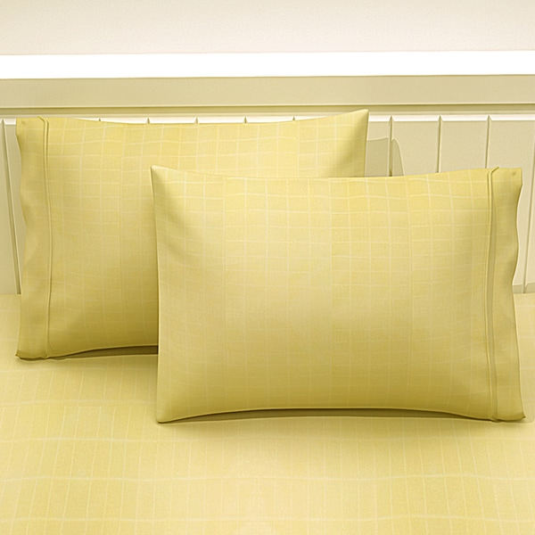 Square Box Cotton 2 Pillowcase Set