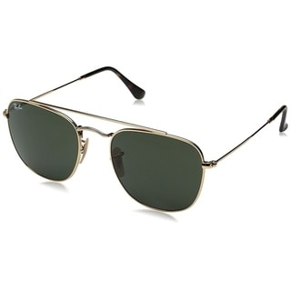 Ray-Ban RB3557 001 Men's Gold Frame Green Classic Lens Sunglasses