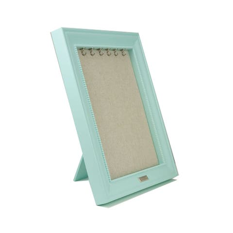 Seafoam Green Jewelry Display Frame