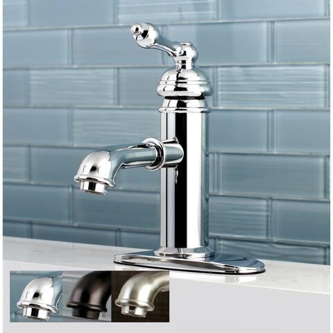English Single-Hole Bathroom Faucet
