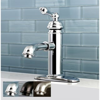 English Single-Hole Bathroom Faucet