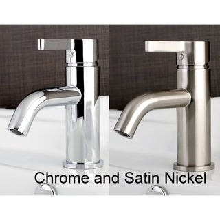 single handle bathroom faucet with popup drain