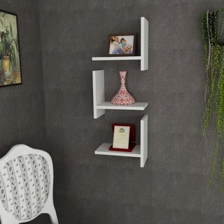 Walsh 13'' x 35'' x 9'' Modern Minimalist Wall Shelf