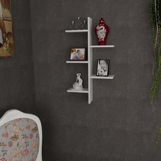 Wade 20'' x 35'' x 6'' Modern Minimalist Wall Shelf