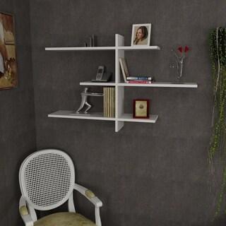 Wacker 46'' x 29'' x 9'' Modern Minimalist Wall Shelf