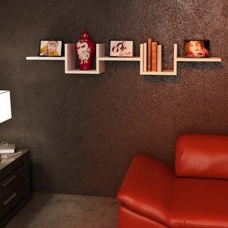 Wabash 51'' x 8'' x 9'' Modern Minimalist Wall Shelf