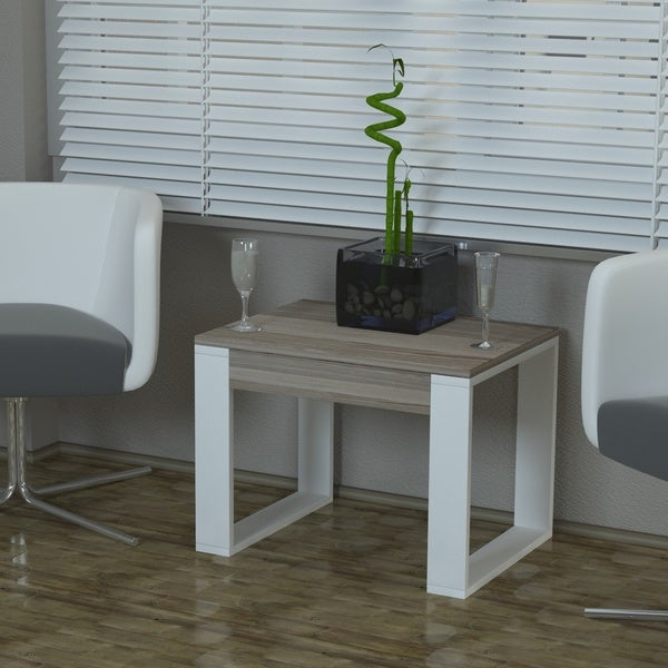 Shop Carmen White Wood 24 X 18 X 18 Modern