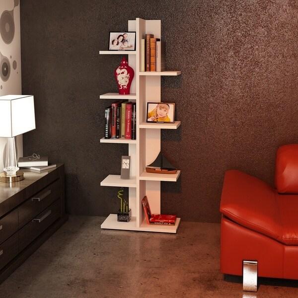 Shop Berlin 18 X 48 X 9 Modern Minimalist Bookcase