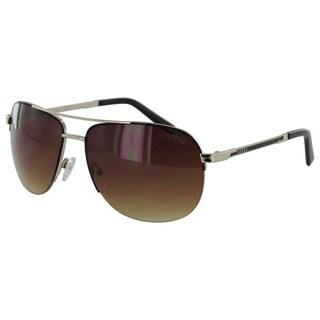 Guess GF0164 Mens Gold Frame Brown Lens Sunglasses