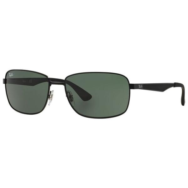 1ef2c87b20f Shop Ray-Ban RB3529 006 71 Men s Black Frame Green Classic Lens ...