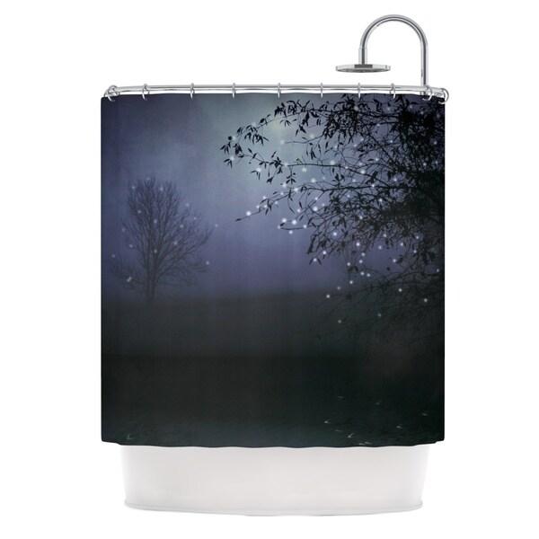 KESS InHouse Monika Strigel Song of the Nightbird Shower Curtain (69x70)