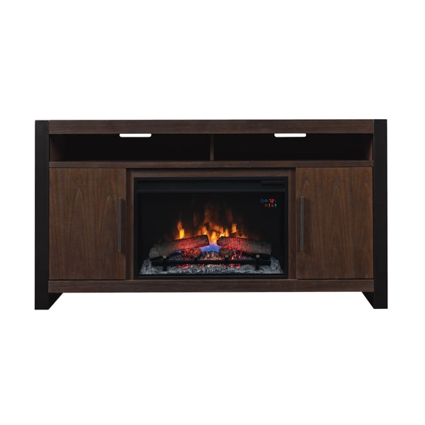 Costa Mesa Tv Stand For Tvs Up To 65 With 26 Electric Fireplace Antique Coffee