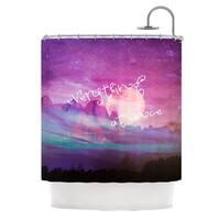 KESS InHouse Monika Strigel Everything at Once Shower Curtain (69x70)