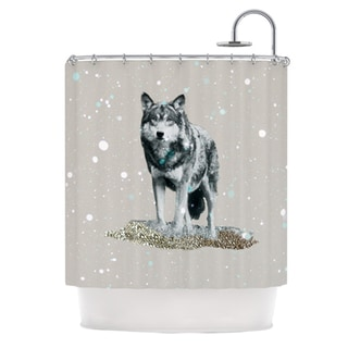 KESS InHouse Monika Strigel Wolf Shower Curtain (69x70)