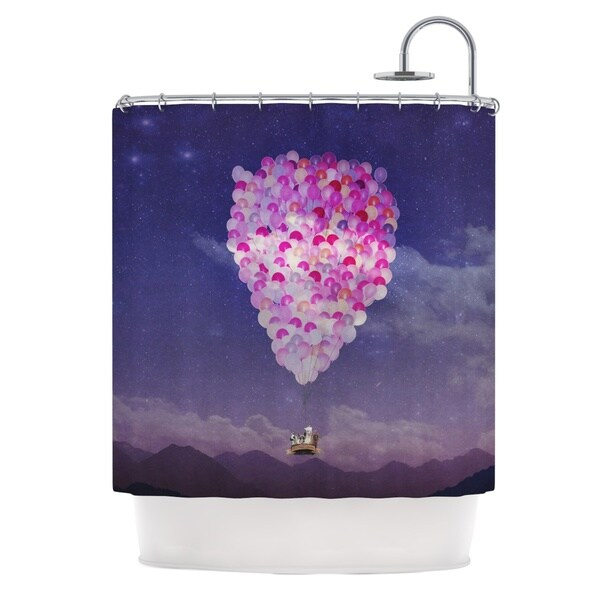 KESS InHouse Monika Strigel Never Stop Exploring IV Shower Curtain (69x70)