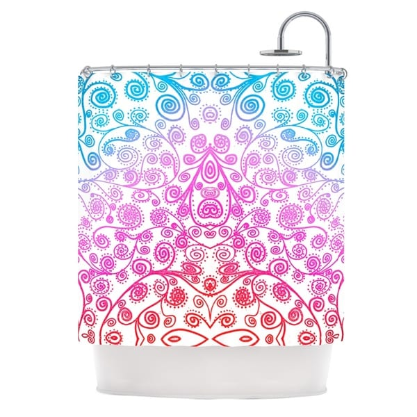 KESS InHouse Monika Strigel Safe and Sound Shower Curtain (69x70)
