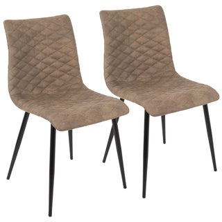 LumiSource Eastwood Industrial Dining Chair (Set of 2)