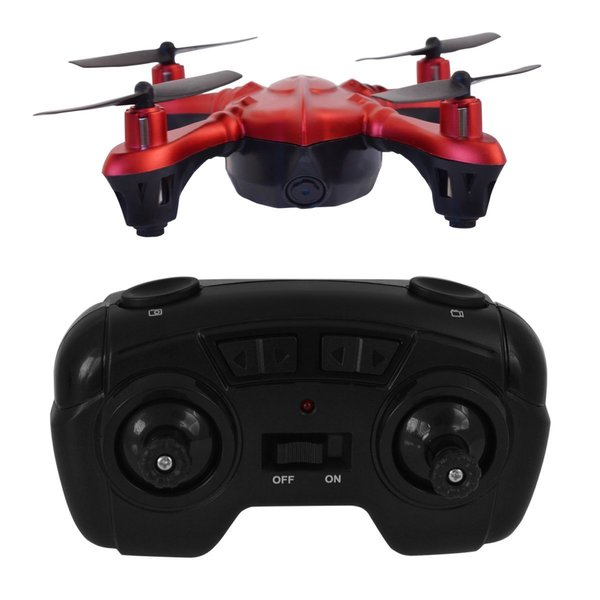 Hover-Way Red Pocket Size Spy Micro Drone With 480P Camera