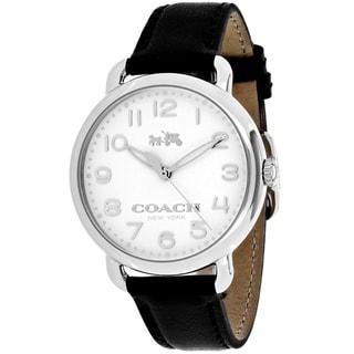coach watches overstock com the best prices on designer mens coach women s 14502267 delancey watches