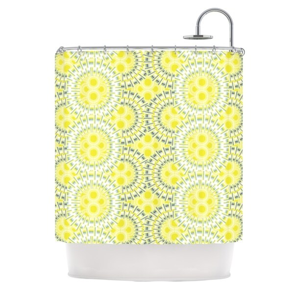 KESS InHouse Miranda Mol Blossoming Buds Shower Curtain (69x70)