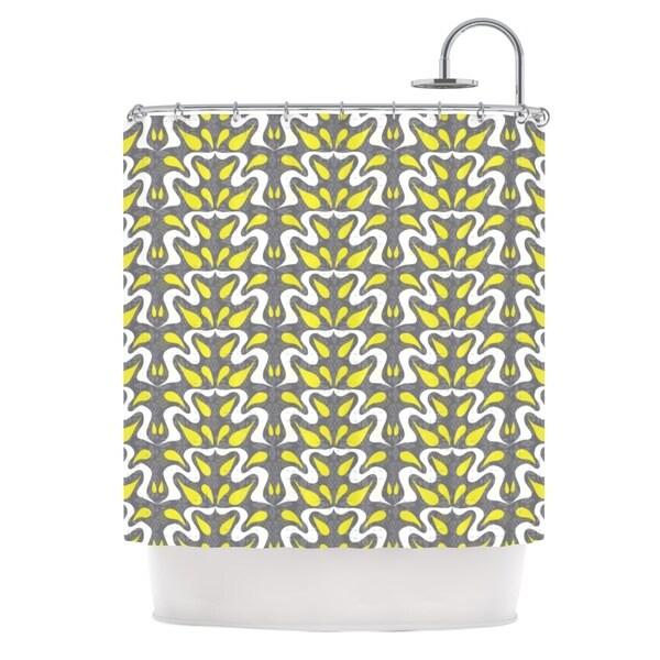 KESS InHouse Miranda Mol Cascade Shower Curtain (69x70)
