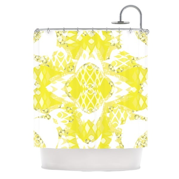 KESS InHouse Miranda Mol Citrus Spritz Shower Curtain (69x70)