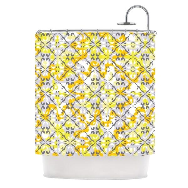 KESS InHouse Miranda Mol Effloresco Shower Curtain (69x70)