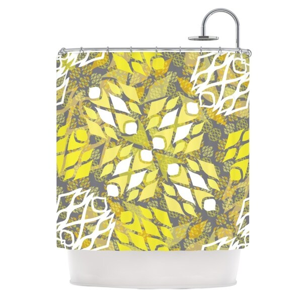 KESS InHouse Miranda Mol Sandy Signs Shower Curtain (69x70)
