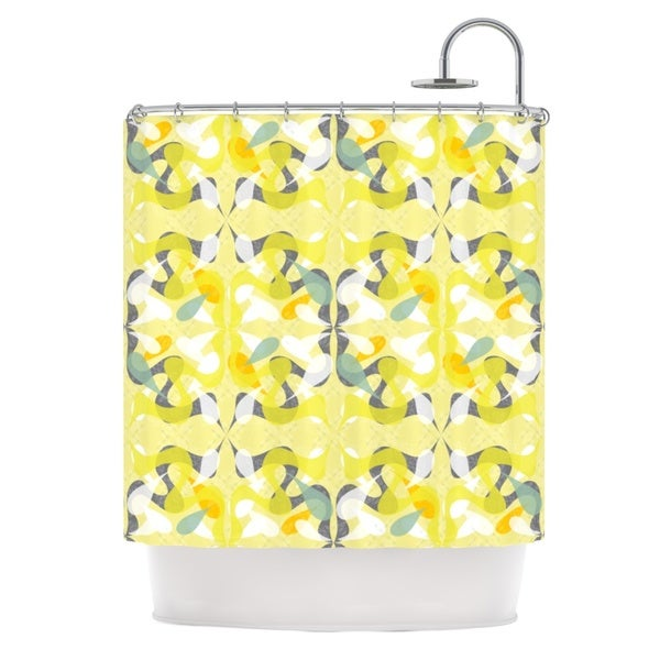 KESS InHouse Miranda Mol Spring Flourish Shower Curtain (69x70)