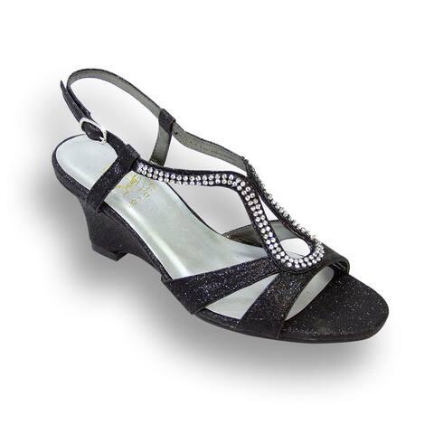 FLORAL Nikki Women Wide Width Wedge Heel Sandal