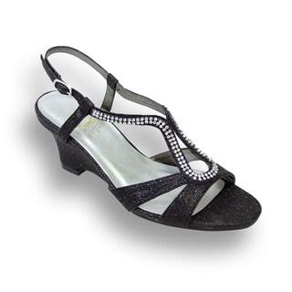 FIC FLORAL Nikki Women Wide Width Wedge Heel Sandal