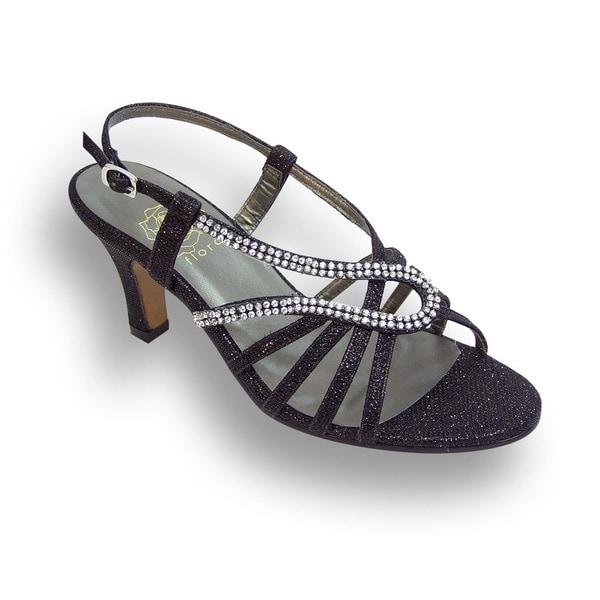 Shop Fic Floral Danielle Women Wide Width Open Toe Dress Sandal