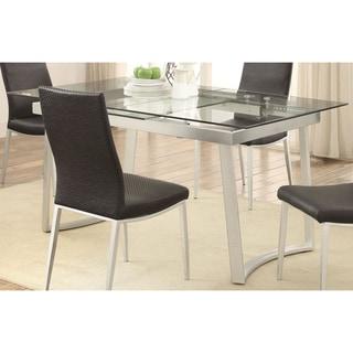 glass dining room tables shop the best deals for sep 2017 overstockcom. Interior Design Ideas. Home Design Ideas