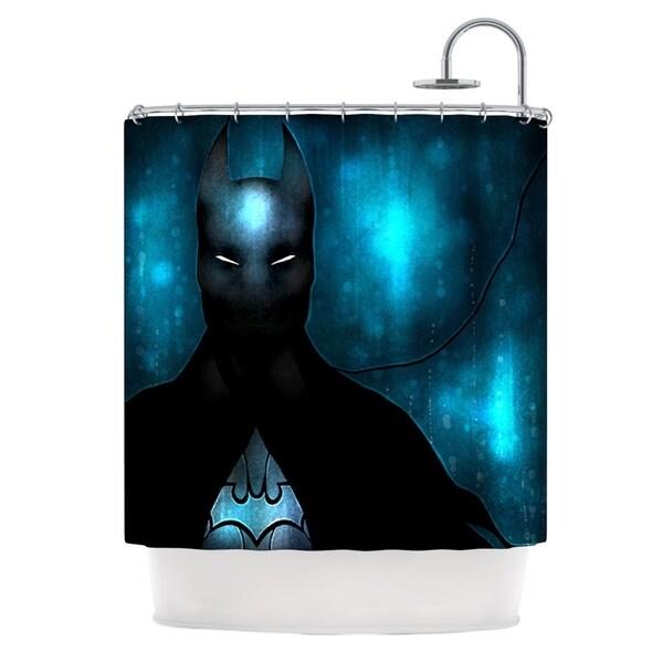 KESS InHouse Mandie Manzano Dark Knight Shower Curtain (69x70)