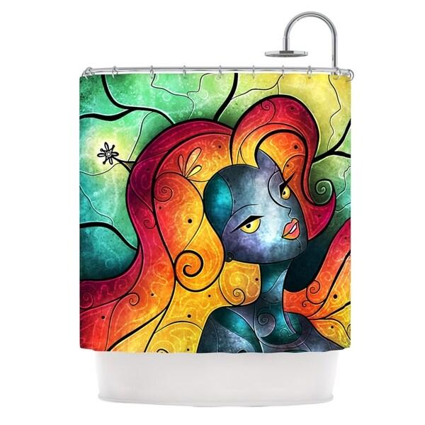 KESS InHouse Mandie Manzano Andromeda Shower Curtain (69x70)