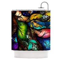 KESS InHouse Mandie Manzano Sleep and Awake Shower Curtain (69x70)