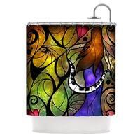 KESS InHouse Mandie Manzano So This Is Love Shower Curtain (69x70)
