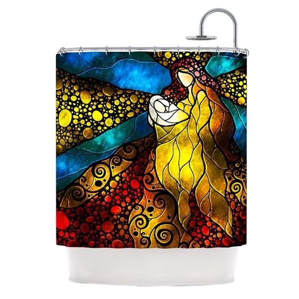 KESS InHouse Mandie Manzano What Child Is This Shower Curtain (69x70)