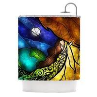 KESS InHouse Mandie Manzano Psalms Shower Curtain (69x70)