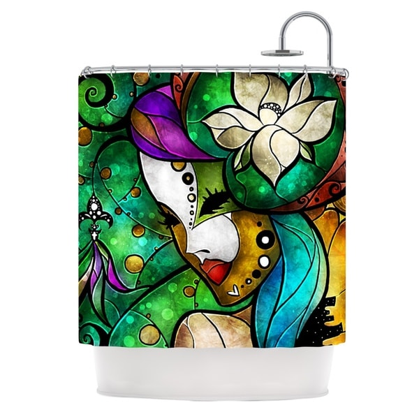 KESS InHouse Mandie Manzano Nola Shower Curtain (69x70)