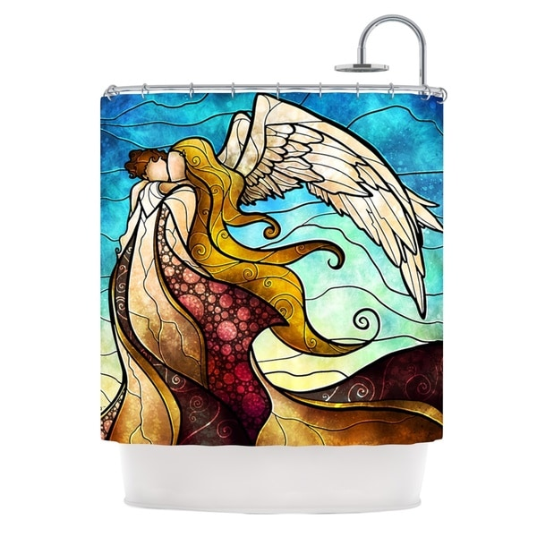 KESS InHouse Mandie Manzano In the arms of the Angel Shower Curtain (69x70)