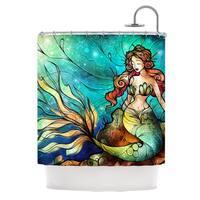 KESS InHouse Mandie Manzano Serene Siren Shower Curtain (69x70)