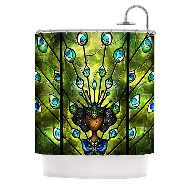 KESS InHouse Mandie Manzano Angel Eyes Shower Curtain (69x70)
