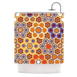 KESS InHouse Laura Nicholson Flower Garden Shower Curtain (69x70)