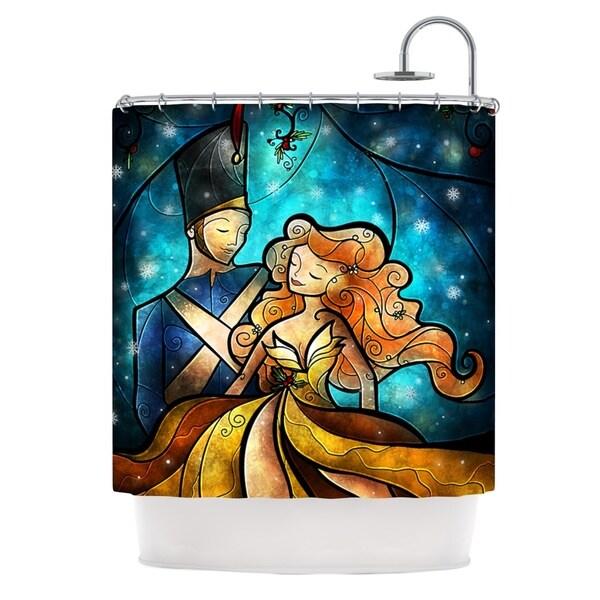 KESS InHouse Mandie Manzano Nutcracker Shower Curtain (69x70)